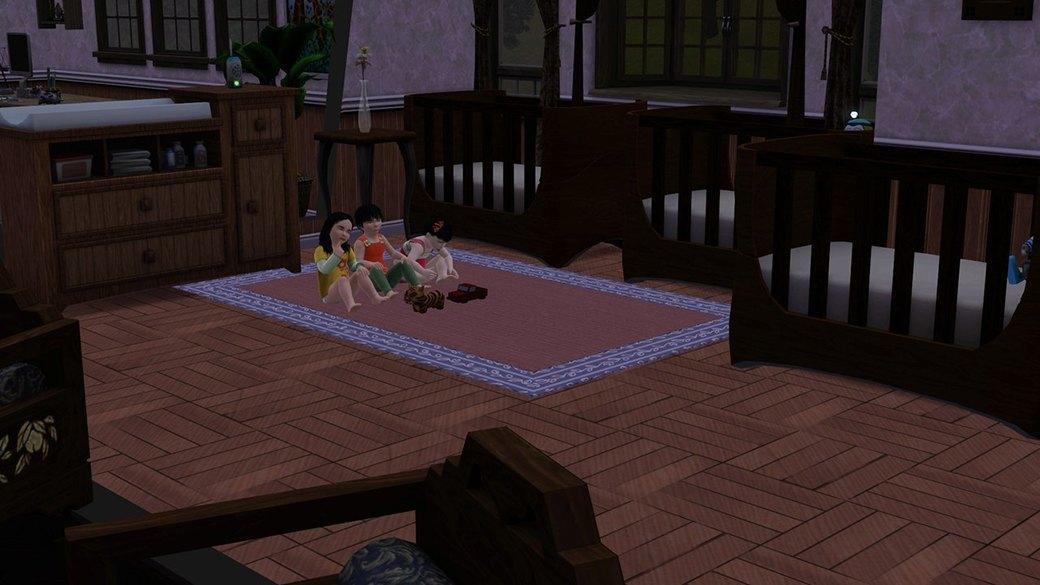 Как юные фанатки The Sims представляют себе взрослую жизнь. Изображение № 4.