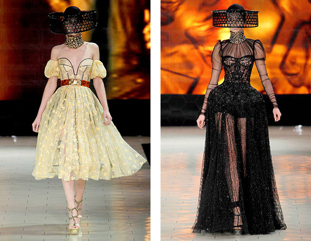 Парижская неделя моды: Показы Chanel, Valentino, Alexander McQueen и Paco Rabanne. Изображение № 25.