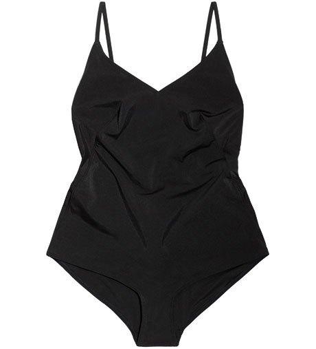 Что носить летом:  10 лаконичных слитных купальников . Изображение № 4.