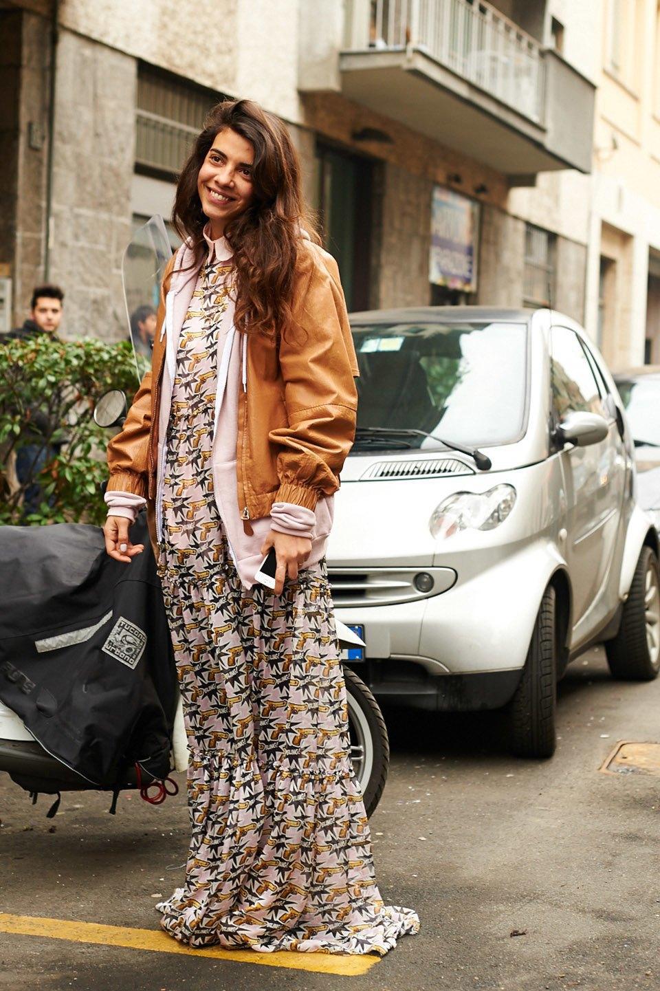 Стритстайл:  Неделя моды в Милане,  часть I. Изображение № 11.