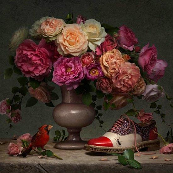 Туфли Christian Louboutin на полотнах Ван Гога, Моне и Сезанна. Изображение № 2.