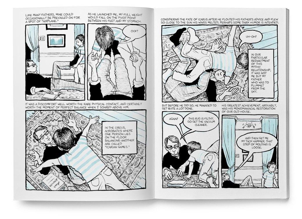 Мемуары в картинках: 10 комиксов о жизни женщин. Изображение № 5.