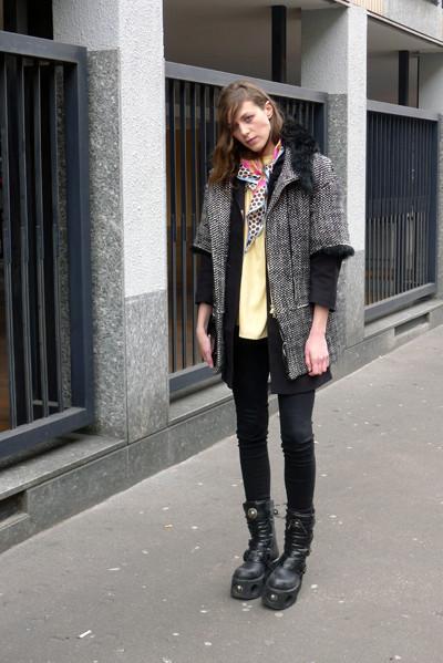 Изображение 6. Milan Fashion Week: день пятый – луки.. Изображение № 6.