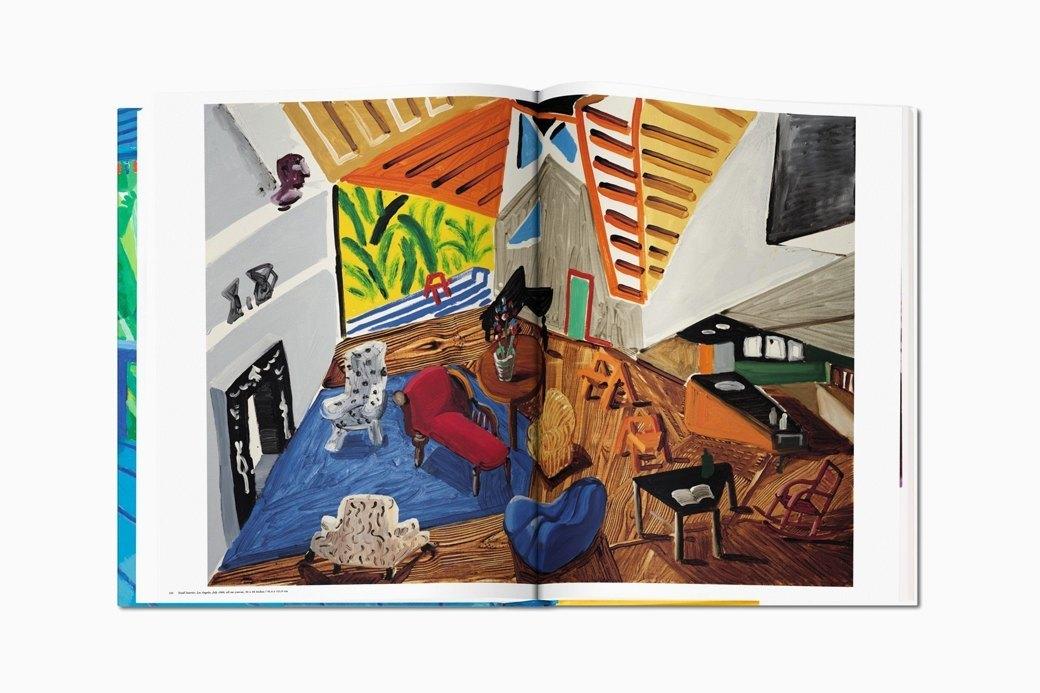 Гигантский альбом Taschen с работами Дэвида Хокни. Изображение № 3.