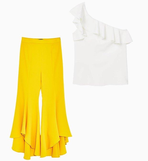Комбо: Жёлтые вещи с остальными. Изображение № 3.