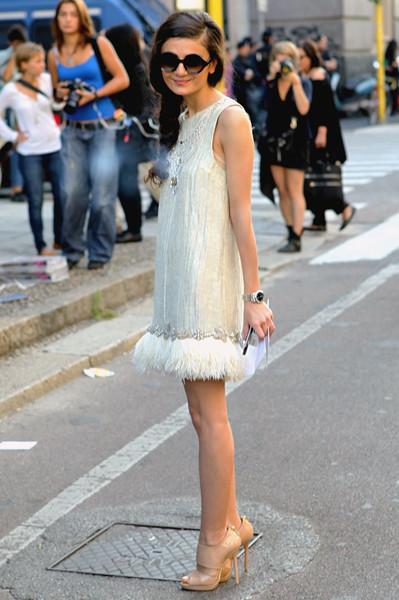 Milan Fashion Week: Уличный стиль, день 2. Изображение № 17.
