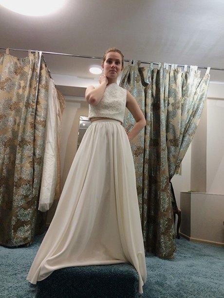 Не хочу свадебное платье что надеть