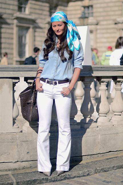 London Fashion Week: Уличный стиль, часть 1. Изображение № 12.