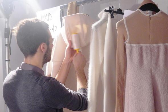 Изображение 21. Milan Fashion Week: бэкстейдж показа Max Mara.. Изображение № 6.