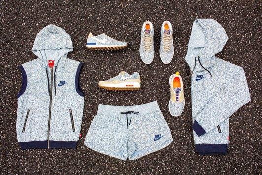 Универмаг Liberty переосмыслил  кроссовки Nike. Изображение № 3.