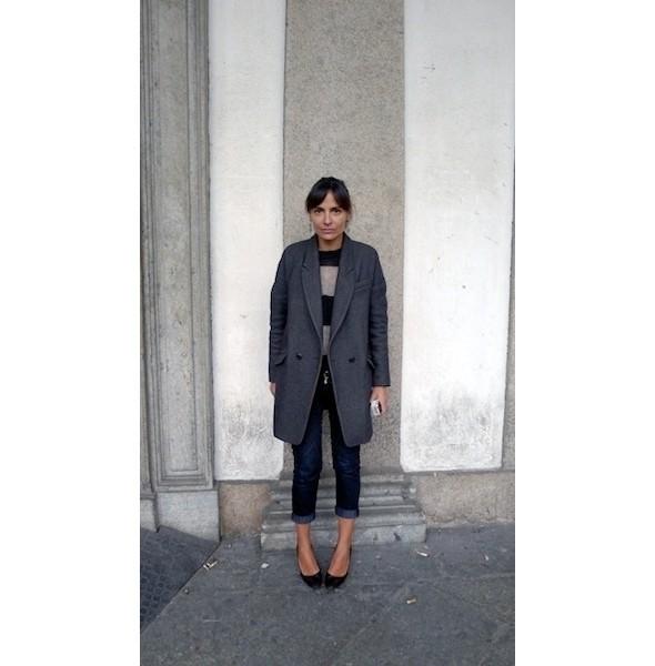 Изображение 14. Milan Fashion Week: день шестой — луки.. Изображение № 14.