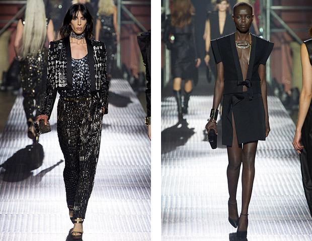 Неделя моды в Париже: Показы Balenciaga, Carven, Rick Owens, Nina Ricci, Lanvin. Изображение № 34.