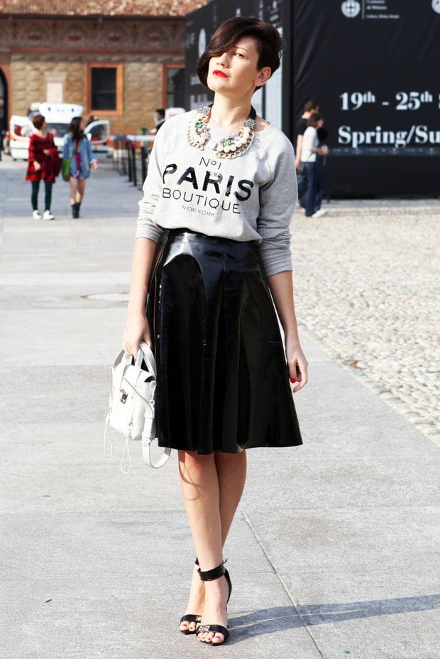 Streetstyle: Неделя моды в Милане. Изображение № 3.