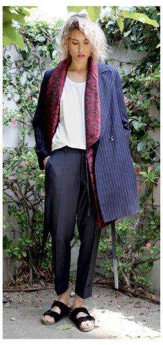 Агнесс Дейн представила дебютную коллекцию своего бренда Title A. Изображение № 10.