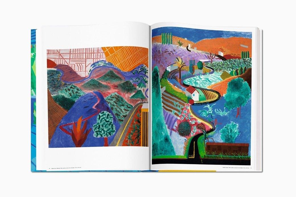 Гигантский альбом Taschen с работами Дэвида Хокни. Изображение № 9.