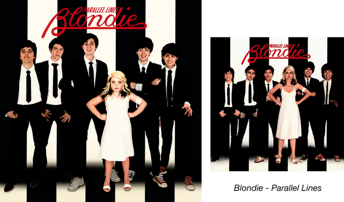 Девочки-музыканты воссоздали обложки знаменитых альбомов. Изображение № 4.