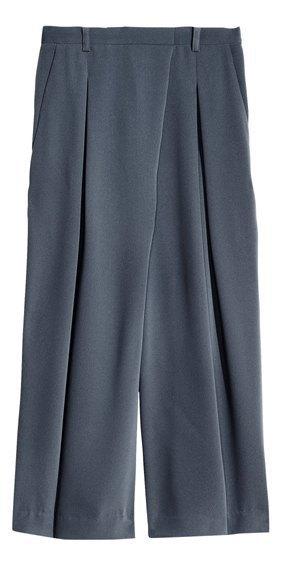 Широкие брюки в осенне-зимних коллекциях. Изображение № 14.
