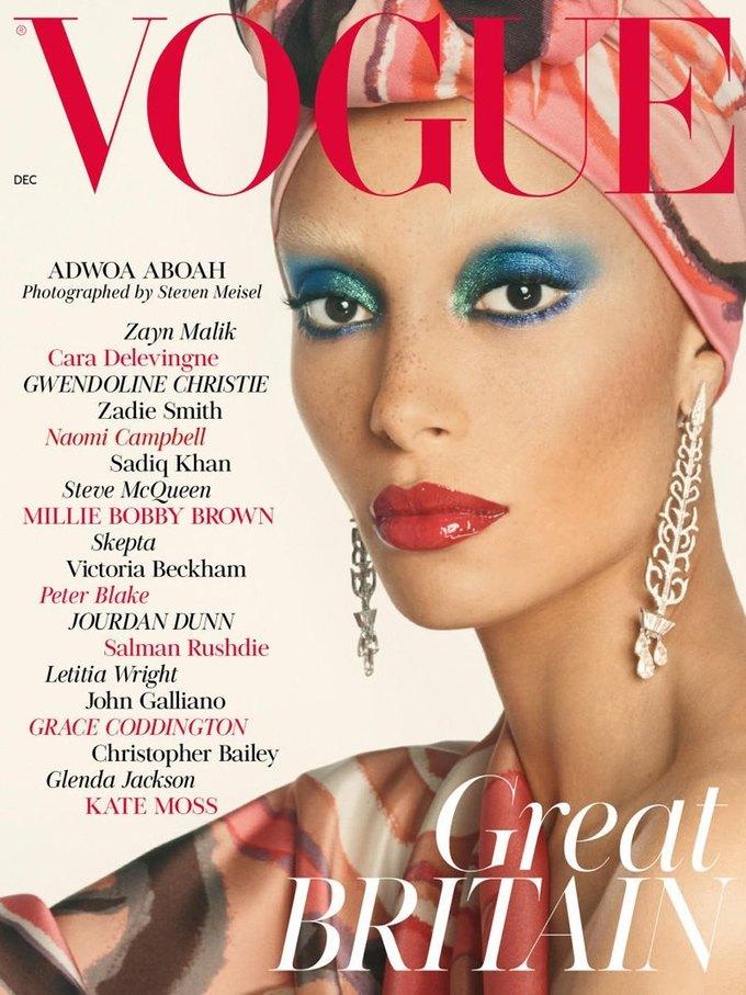 Названы лучшие обложки модных журналов 2017-го. Изображение № 17.