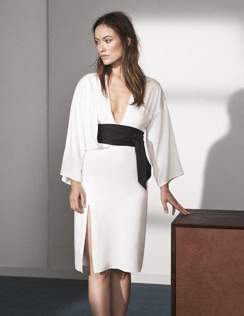 Опубликована рекламная кампания H&M Conscious Exclusive с Оливией Уайлд. Изображение № 3.