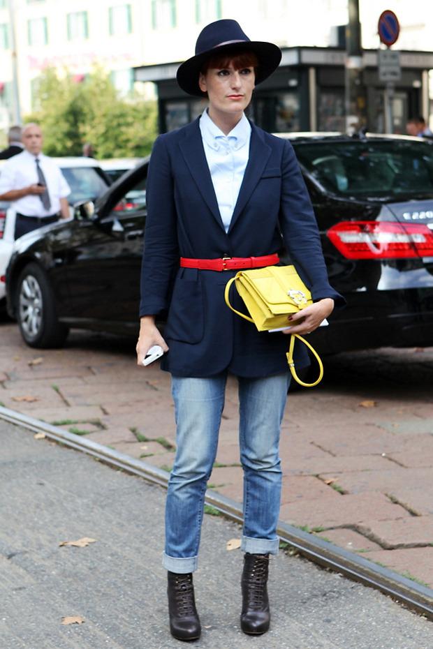 Streetstyle: Неделя моды в Милане. Изображение № 39.