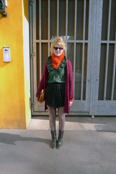Изображение 29. Milan Fashion Week: день третий – луки.. Изображение № 12.