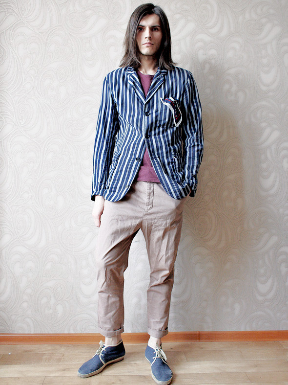 Гардероб: Андрей Толстов, модель, сотрудник магазина «КМ20». Изображение № 25.