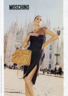 Ясмин Ле Бон в рекламной кампании Moschino SS 2011 . Изображение № 46.