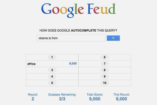 «Google Feud»: викторина  по популярным поисковым запросам. Изображение № 12.