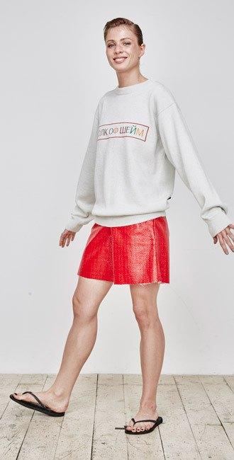 Пижамы, сетка и «Интурист» в новом лукбуке Walk of Shame. Изображение № 4.