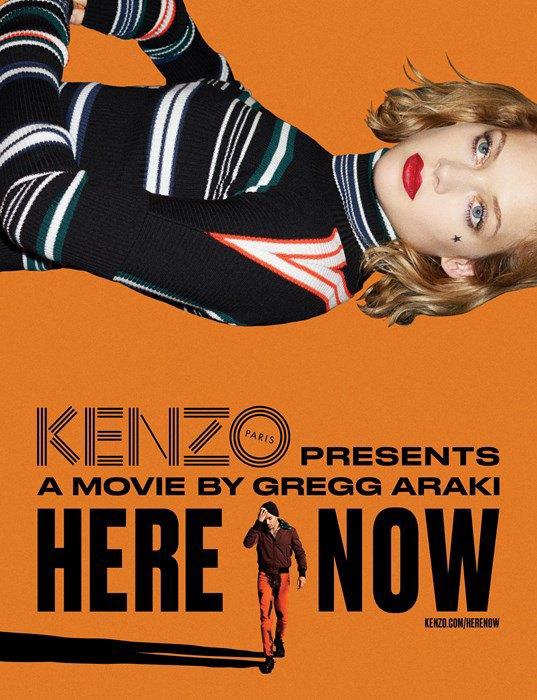 Вышла полная версия мини-фильма Грегга Араки  для Kenzo. Изображение № 1.