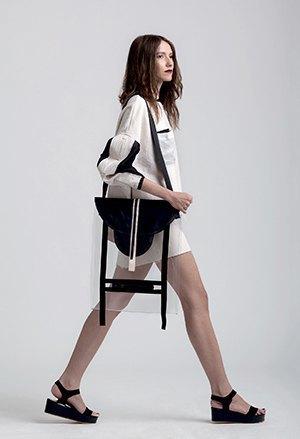 Геометричные платья и прозрачные сумки Ksenia Gerts. Изображение № 4.