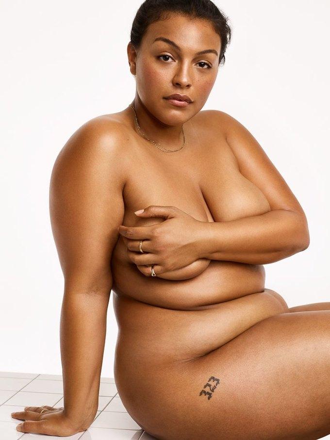 В кампании Glossier снялась беременная олимпийская медалистка. Изображение № 2.