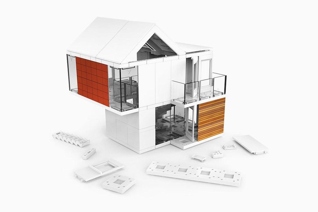 Конструктор для взрослых и юных любителей архитектуры . Изображение № 1.