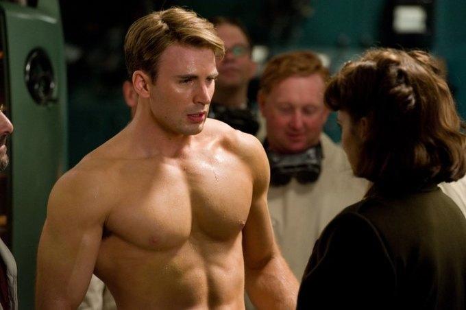 Крис Эванс в «Капитане Америка». Изображение № 1.