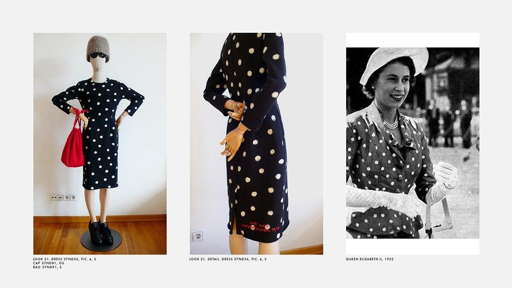 Новый лукбук Nina Donis: Лаконичные силуэты и принт в горошек. Изображение № 20.