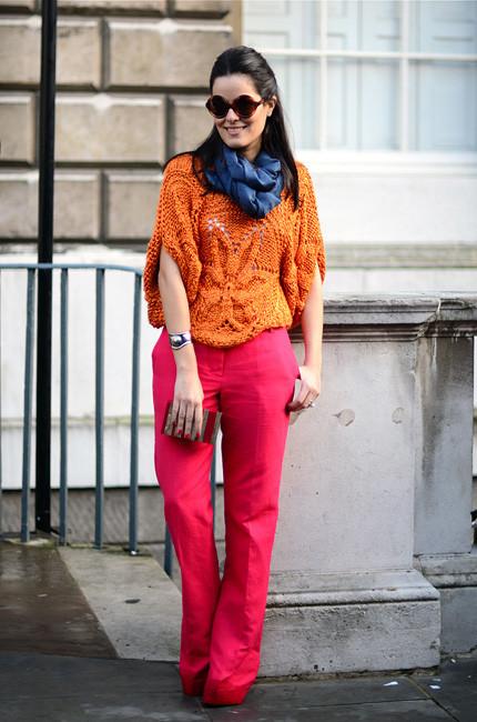 London Fashion Week: Уличный стиль, часть 1. Изображение № 32.