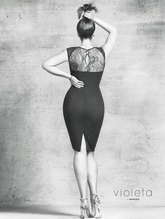 Mango запустила линию для женщин с большим размером одежды. Изображение № 1.