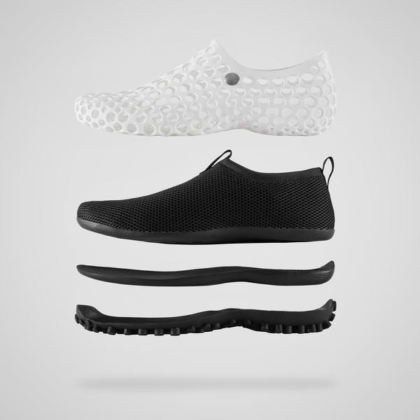 Nike вновь выпускают кроссовки, созданные Марком Ньюсоном. Изображение № 4.