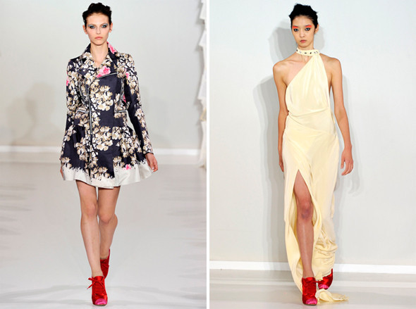 Показы на London Fashion Week SS 2012: День 5. Изображение № 5.
