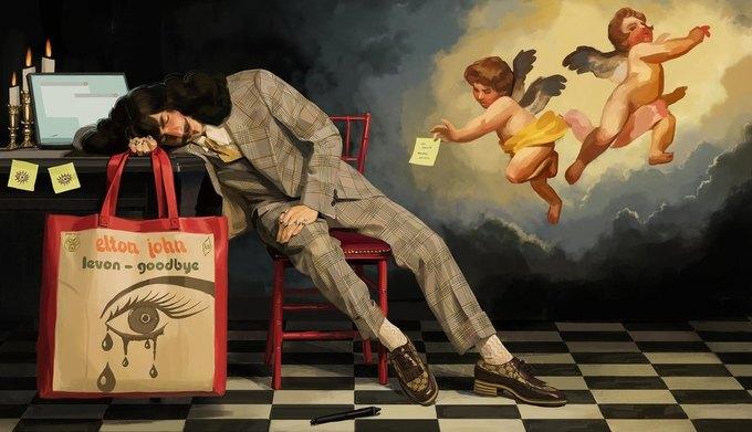 Новую кампанию Gucci нарисовал художник. Изображение № 7.