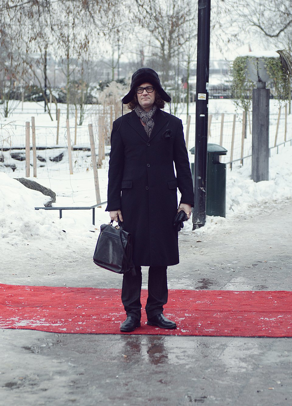 Шубы и горох на Stockholm Fashion Week. Изображение № 40.