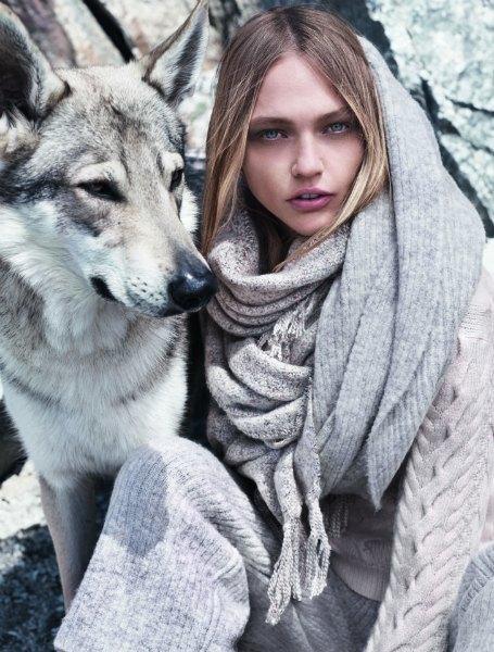 Новый лукбук Mango: Саша Пивоварова, Монблан и волки. Изображение № 11.