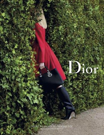 Вышло фэшн-видео Инез  и Винуда для Dior из серии «Secret Garden». Изображение № 3.