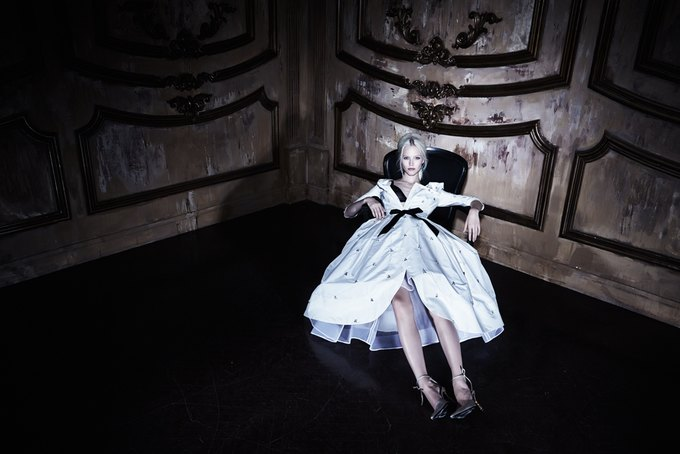 Саша Лусс с собачкой в новом лукбуке Bohemique. Изображение № 22.