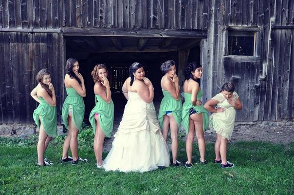 Голые задницы — новый тренд свадебной фотографии. Изображение № 4.