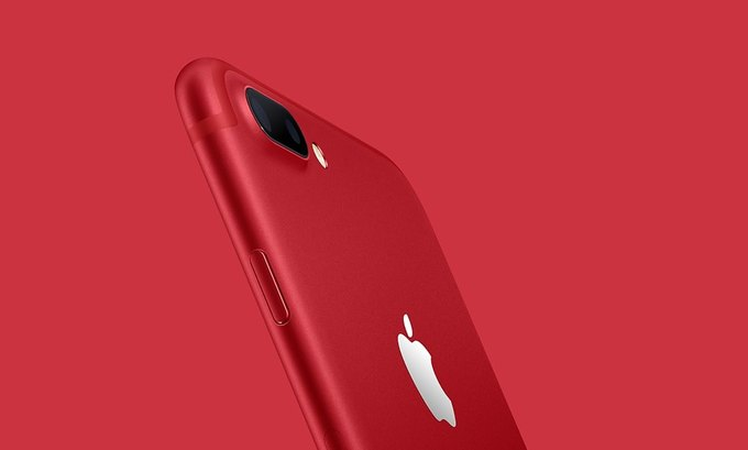 Часть средств от продажи красных айфонов передадут на борьбу с ВИЧ. Изображение № 1.