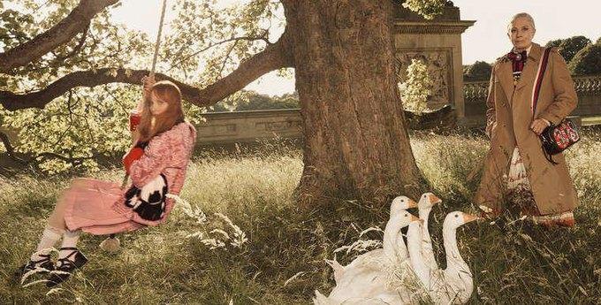 Gucci выпустили кампанию с Ванессой Редгрейв. Изображение № 3.