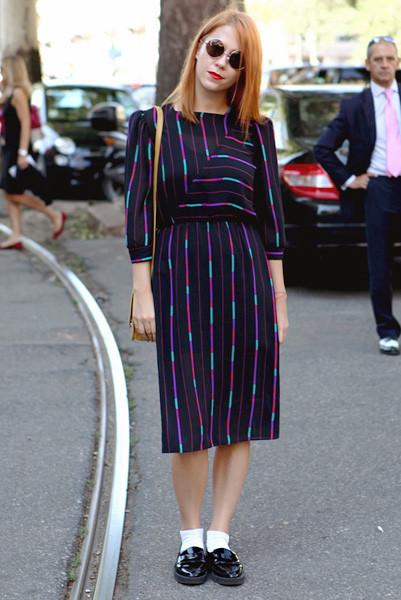Milan Fashion Week: Уличный стиль, день 1. Изображение № 7.