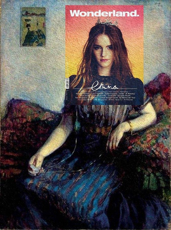 Mag + Art: Коллажи из глянца и живописи. Изображение № 5.