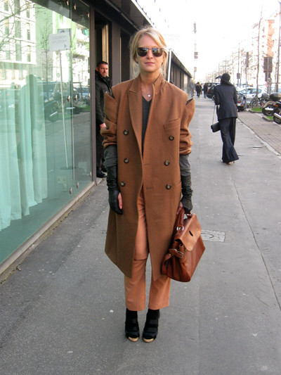 Изображение 13. Milan Fashion Week: день третий – луки.. Изображение № 26.
